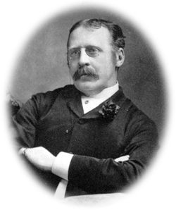 Clement Scott, about 1883